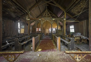 Rotten wood church