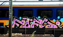 traingraffiti (wojofoto) Tags: treingraffiti traingraffiti trein train graffiti nederland netherland holland trackside railway spoor wojofoto wolfgangjosten fofs