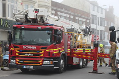 Humberside Fire And Rescue Scania P320 Ariel Ladder Platform (Ben Greenwood 999) Tags: humberside fire and rescue scania p320 ariel ladder platform yn16mya bridlington