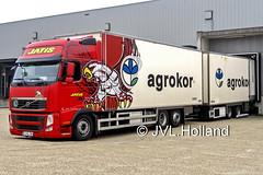 Volvo FH500  SLO  JATIS  AGROKOR 180604-001-C5 ©JVL.Holland (JVL.Holland John & Vera) Tags: volvofh500 slo jatis agrokor hoekvanholland transport truck lkw lorry vrachtwagen vervoer netherlands nederland europe canon jvlholland