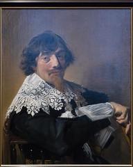 Portrait of a Man   Frans Hals   c.1635   The Rijksmuseum-72 (Paul Dykes) Tags: rijksmuseum museumofthenetherlands art gallery museum amsterdam netherlands nl holland portraitofaman franshals 1635