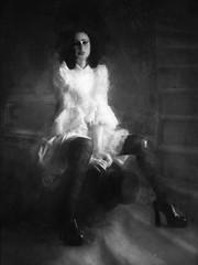 Cabaret Backstage (jimlaskowicz) Tags: jimlaskowicz vintage dusty painterly dream dark cabaret backstage performer