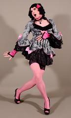 137H8L (klarissakrass) Tags: costume cosplay crossdress heels stockings highheels