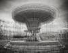 Brief Histories: Fairground Ride (DarwinRobot) Tags: carousel fairgroundride multipleexposure goodwood 76mm goodwoodmembersmeeting monochrome