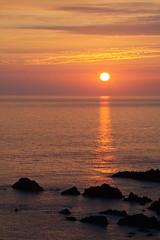 Hartland Sunset (kernowrules) Tags: ifttt 500px sunset dramatic sky sunrise horizon over water dusk twilight dawn moody coastline seascape daybreak hartland atlantic coast kernowrules rocks red yellow summer reflection