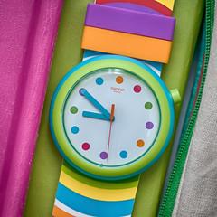 plastic (3OPAHA) Tags: plastic hmm macromondays swatch swiss watch colours sony