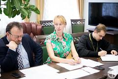 Ректор МинДА возглавил очередное заседание Ученого совета Академии