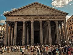 Pantheon (kopiecmarcin) Tags: pantheon roma building old history italy italien rom rzym travel summer olympus omd