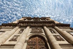 jesuitas 9647 (orikanovich) Tags: toledo igles iglesiadelosjesuitas church sky cielo azul blue nubes cloud barroco baroque architecture arquitectura structure estructura perspectiva perspective light luz