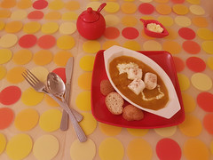 "Pumpkinsoup in Summer (ShambLady) Tags: pumpkin soup marshmellows cream red yellow orange dots circles lunch dinner food delicious square plate dish cuisine winter malaysia 2018 may eden penang soep حساء sopa супа 湯 soppe suppe soupe ""குழம்பு"" zupa सूप keitto σούπα מרק sup sop supă суп supu çorba పులుసు juha かぼちゃ abu ល្ពៅ calabaza 南瓜 citrouille דלעת abóbora pompoen"