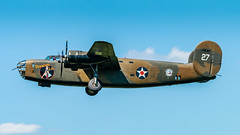 WWII_weekend-1348.jpg (gdober1) Tags: autoupload wwiiweekend worldwarii aircraft b24 liberator bomber diamondlil aviation airshow