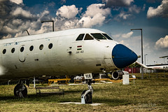 Jakovlev Jak-40E (Mark Gyore) Tags: haylr jak40e hungary canon eos aricraft airplane retro malév hungarien airlines budapest aeropark