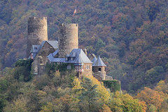 Germany - Thurant Castle (Michael.Kemper) Tags: canon eos 6d 6 d canoneos6d ef f4l f4 l usm deutschland germany voyage travel travelling reise rheinland pfalz rheinlandpfalz rhineland palatinate rhinelandpalatinate moselle mosel valley tal moseltal fluss flus river traum pfad traumpfad bleidenberg ausblicke dream path traumpade burg thurant thurandt castle hike hiking wanderung wandern randonnée randonnee canonef70200f4lusm 70200 herbst herbstlaub herbstlaubfärbung laubfärbung fall foliage autumn alken