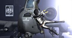 K.B Bullet Proof (Karole Batista) Tags: azoury blackmaster zero maitreya helmet scifi sisu frozen