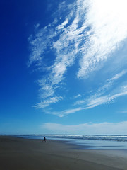 I want to fly... (Takako Kitamura) Tags: ocean clouds beach oregoncoast oregon weatherphotography