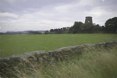 Old Windmill (Bill Eiffert) Tags: painterly landscape windmill ruin wall impressionist grass fields