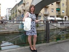 Milano - Naviglio Pavese (Alessia Cross) Tags: crossdresser tgirl transgender transvestite travestito