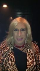 Clubbing 👄 💋 👄 💋 (bevhills2) Tags: transgender tgurl makeup pinklipstick browneyes