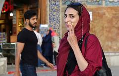 DSC09168 (Dirk Rosseel) Tags: persian girl esfahan isfahan iran iranian persia