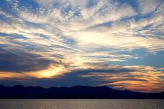 Atardece (mike828 - Miguel Duran) Tags: atardecer cielo nubes puesta sol sunset sky mar sea beach playa clouds sony rx100 m4 mk4 iv mallorca alcudia majorca