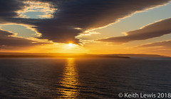 North Sea Solstice Sunset (keithhull) Tags: sunset northsea reflection sky sea clouds bempton eastyorkshire