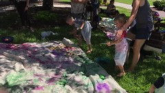 A Ringling Museum Children's Summer Activity (soniaadammurray - On & Off) Tags: video children paint painting fun activity ringlingmuseumofart sarasota florida usa exterior happiness fulfilled create artchallenge