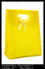 Yellow gift bag (__Viledevil__) Tags: gift bag anniversary birthday box carry celebrating celebration celebrations christmas container decoration decorative design gifts object package paper present ribbon surprise valentine xmas yellow giftbag