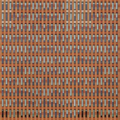 The Music of Details (Paul Brouns) Tags: architecture architectuur architektur amsterdam zuidas zuid south offices facade façade facades windows rhythm abstract music sunscreens melody bricks red orange details wall square paulbrouns paulbrounscom paul brouns