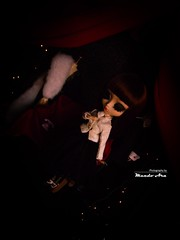 Lazy (Mundo Ara) Tags: erika pullip ririko dita von teese burleque doll groove red show lazy