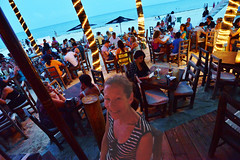 Once upon a time in Mexico... (Rex Montalban Photography) Tags: rexmontalbanphotography mexico playadelcarmen zenzi restaurant bar onthebeach liveentertainment