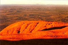 Beautiful Uluru at midday (LUMEN SCRIPT) Tags: northernterritory redcentre minimalistlandscape minimalism nobody nature landscape ayersrock uluru australia desert
