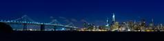 San Francisco Ultrawide (Pano) (astr0chimp) Tags: usa southwest west landscape landschaft san francisco bay area night nightshot