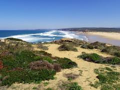Westcoast (52er Bild) Tags: praiadabordeira costavicentina portugal europe atlantic ocean ozean küste udosteinkamp pentax q10 52erbild beach strand wasser sand dunes dünen shore