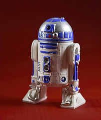 Photo#191-R2D2 (Ahhh-In The 70's...So Nice :)) Tags: 365the2018edition redwhiteandblue red white blue r2d2 starwarscharacter doid android lightbox 3652018 day191365 10jul18