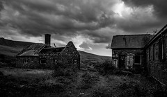 Quarry Office and Hospital, Pen yr Orsedd (Rogpow) Tags: nantlle penyrorseddquarry slatequarry wales yfron northwales snowdonia hospital office blackandwhite bnw blackwhite whiteandblack mono monochrome industrialhistory industrialarchaeology industrial industry abandoned derelict decay dilapidated disused ruin buildings fujifilm fuji fujixpro2 slate quarry desolate darkskies brooding menacing overcast