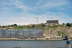 cranes of Porto (as seen from across the river in Gaia) (Gail at Large | Image Legacy) Tags: 2018 afurada portugal sãopedrodaafurada vilanovadegaia gailatlargecom