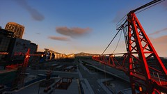 Crane | GTA V (Stellasin) Tags: angeles gaming game dark darkness beauty beautiful buildings city clouds downtown mods engine weather reflection sea graphics gtav gta hot highway photography night sky los mountains road screenshot sun sunset street v water