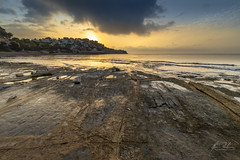 Cala Baladrad en Benissa al amanecer (melderomero.com) Tags: baladrar benissa calpe costablanca moraira spain sunrise amanecer coast costa mar sea mediterranean mediterraneo irix 15mm uga