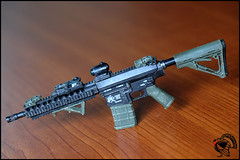 AR10 Short-Barrelled Rifle (SBR) (TSA Customs) Tags: 16 ar10 sr25 sbr stoner