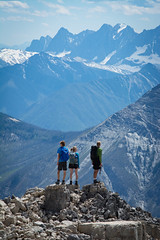 Rockwall Views (Darren Umbsaar) Tags: mountains mountain mount chipper peak kootenay canada bc canadian rockies summit hike water river creek snow forest