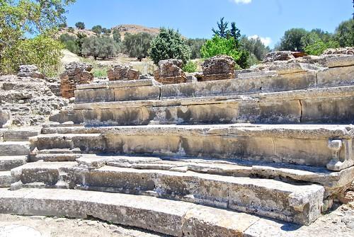 Roman Odeon, Gortyn, Crete