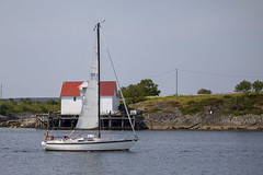 Sailboat (G E Nilsen) Tags: nordland norway brønnøysund sailboat seahouse northernnorway norwegiancoast sea travel