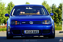 Photo 3 (@r32ukoc_) Tags: volkswagen vw golf r32 mk4 v6 mk4r32 dpb blue car vehicle transport german colour green black outdoor tree road sky r32ukoc