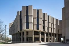 (ilConte) Tags: evanston illinois usa america us architettura architecture architektur northwesternuniversitylibrary walternetsch brutalism brutalismo brutalist