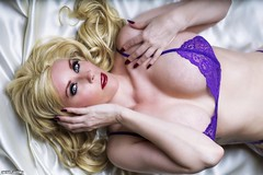 She Lays With Purpose... (Ring of Fire Hot Sauce 1) Tags: glamour boudoir fatalsiren blonde
