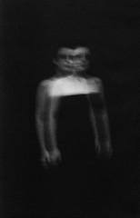 11 (Nasos Karabelas) Tags: nasoskarabelas woman blackandwhite experimental fineart expressive long exposure double figure ghostly