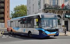 26162 SN67WWG (PD3.) Tags: wwg adl enviro 200 mmc 26162 sn67wwg sn67 bus buses psv pcv hampshire hants england uk portsmouth stagecoach interchange station hard gunwharf quays
