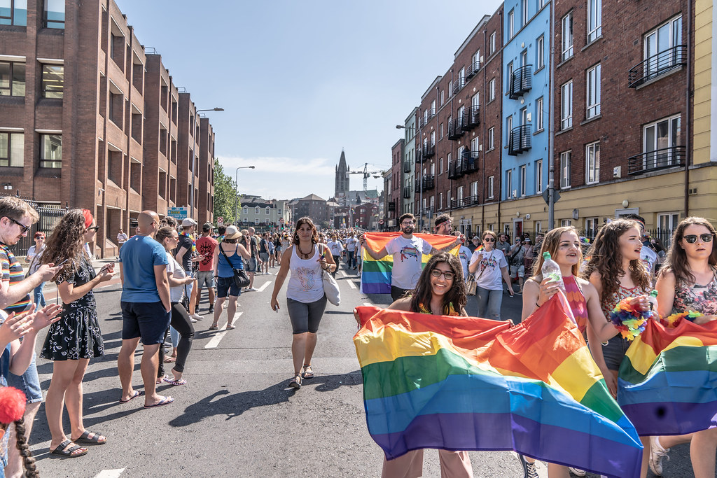 ABOUT SIXTY THOUSAND TOOK PART IN THE DUBLIN LGBTI+ PARADE TODAY[ SATURDAY 30 JUNE 2018] X-100023