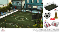 NEW! It's Football NOT Soccer Set @ FaMESHED (Bhad Craven 'Bad Unicorn') Tags: soccer foosball world cup worldcup fifa games sport sports cones ball balls field cage training • bhad craven second 2l life lindens profile picture photography bad unicorn badunicorn clothing buc bu secondlife graphics gfx graphic design photos pics photo sl urban mesh exclusive store blog shadows high quality decor production portrait image hd definition original meshes meshed 3d game characters art gaming concept concepts new top work progress wip