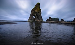 In the eye of the beholder (Matt Straite Photography) Tags: water beach shore ocean washington ruby olympic national park rock reflection sky clouds